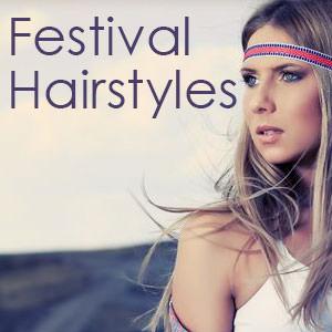 Festival Hair Inspiration By Steven Scarr Hairdressing
