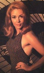 Karin Dor Bond Girl Hair Salon Steven Scarr