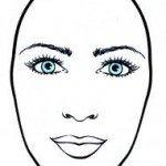 long face sketch