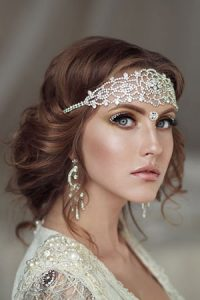 wedding day hairstyles at Steven Scarr hairdressing salon in Coxhoe