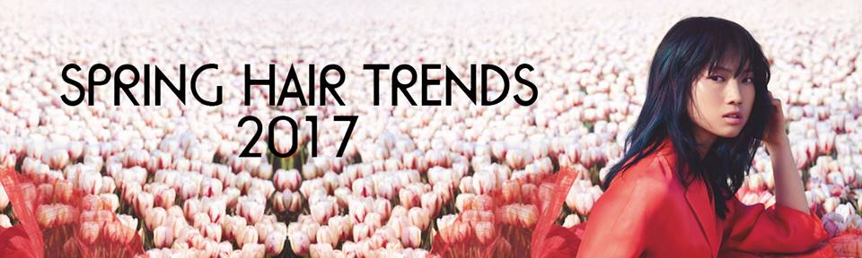 spring hair trends for 2017 at hair salon in Durham