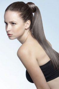 ponytail hairstyles at Steven Scarr hair salon in Durham