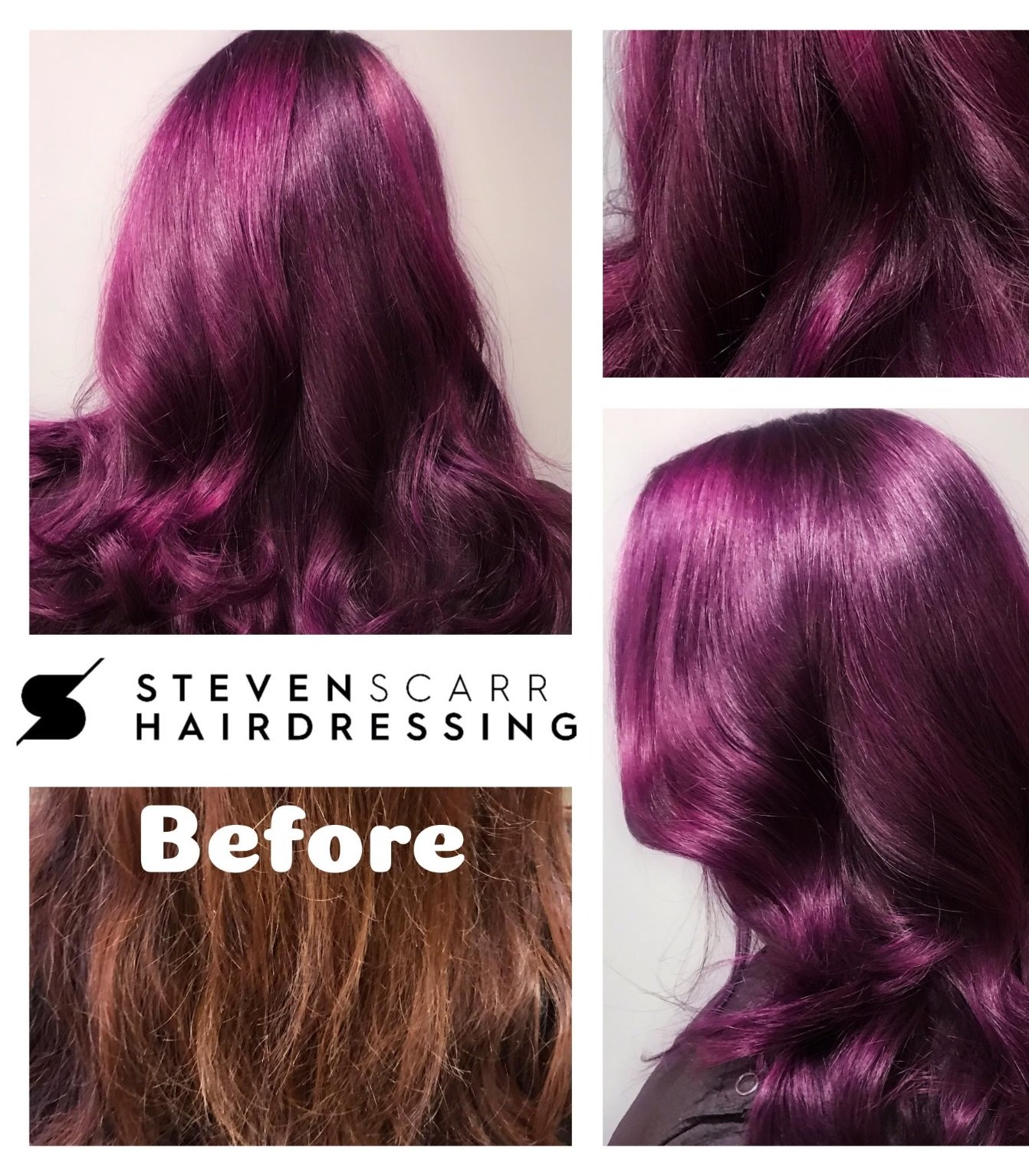 Beautiful seasonal hair colours you'll want to show your Steven Scarr hairstylist