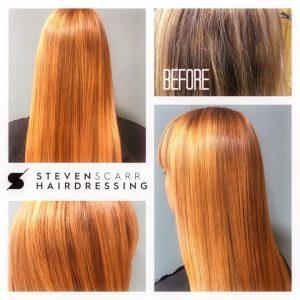colour fresh hair colours steven scarr hairdressing durham