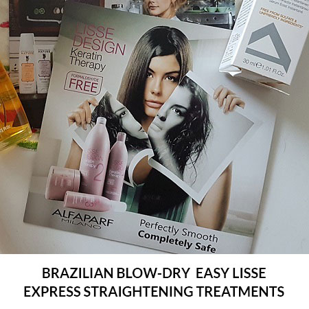 Brazilian Blow-Dry Easy Lisse Express Straightening Treatments