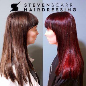hair colour in durham at steven scarr hair salon