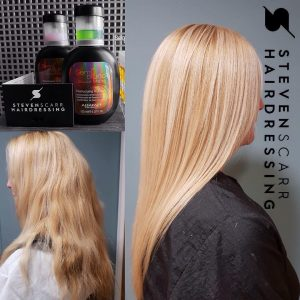hair treatments at steven scarr hair salon in coxhoe