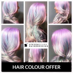 hair-colour-offer at steven scarr hair salon, durham