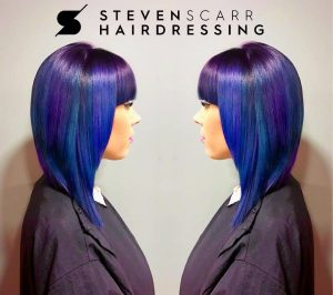 short and chic hair cuts at steven scarr hair salon in durham