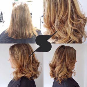 balayage hair colours in durham at steven scarr hair salon