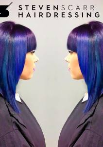 CUSTOMISED HAIR COLOUR AT STEVEN SCARR HAIR SALON IN DURHAM